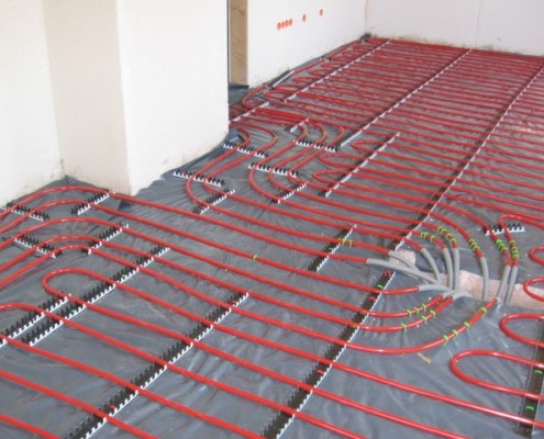 radiant floor heating installation wareham